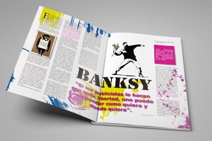 Diseño editorial de revista