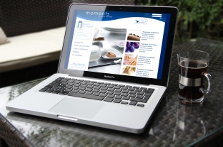 Diseño web tienda Moments de Aisia Hoteles